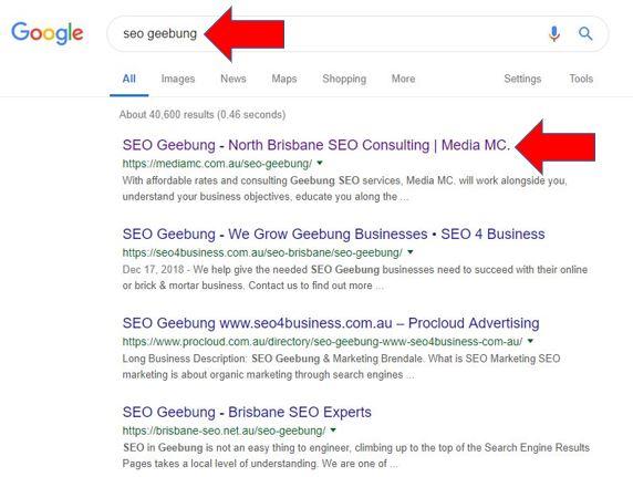 SEO Geebung - North Brisbane SEO Consulting | Media MC